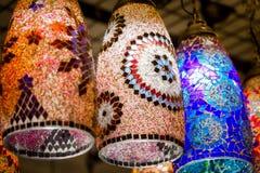 Typiska turkiska lampor h royaltyfria bilder