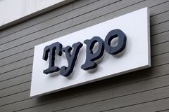 Typo store in Genting Highlands, Malaysia royalty free stock images