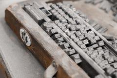 typografi Arkivfoton