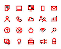 Typografia codzienna Fotografia Stock