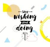 Typografia dla plakata, zaproszenia, kartka z pozdrowieniami lub koszulki, Zdjęcia Stock