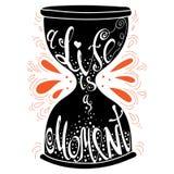 Typografia plakat royalty ilustracja