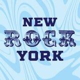 Typograficzny rockowy slogan, trójnik koszula grafika ilustracji