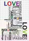 Typografie Royalty-vrije Stock Fotografie