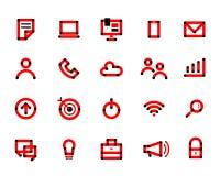 Typografie elke dag Stock Fotografie