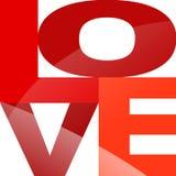 Typografie LOVE Stock Images