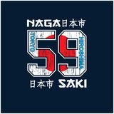 Typografie van Tokyo voor t-shirt en ander gebruik vector illustratie