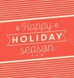 Typografisch Kerstmisontwerp/Vrolijke Kerstmis Royalty-vrije Stock Foto