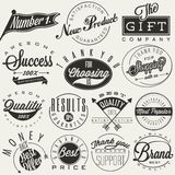 Typografische symbolen Royalty-vrije Stock Foto's