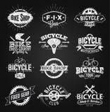 Typografisk teckning för konditionemblemkrita Royaltyfri Fotografi