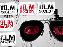 Typographic Graffiti Design for Film Society. Vector illustration. Typographic Graffiti Design for alternative Film Society. Vector illustration Stock Image