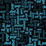 Typographic seamless Royalty Free Stock Photos