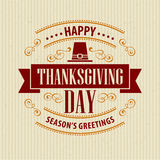 Typographic Thanksgiving Design. Vector Stock Photos