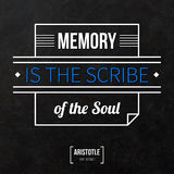 Typographical background with classic quote. Royalty Free Stock Photos