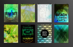 Typographical poster, retro design Stock Photo
