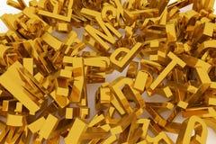 Typographie de cgi d'abrégé sur fond, lettre d'ABC, alphabet bon illustration de vecteur