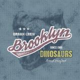 Typographie de New York Photos stock