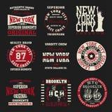 Typographie de New York Photo libre de droits