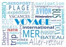 Typographie de Word illustration stock