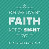 Typography of bible quote for print or use as poster