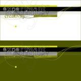 Typography experimental abstrato da tecnologia Imagens de Stock Royalty Free