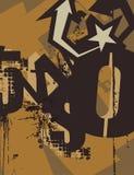 Typography Grunge Background Royalty Free Stock Image