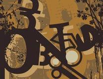 Typography Grunge Background Stock Photo