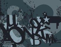 Typography Grunge Background Stock Photos