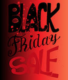 Typography poster. Black Friday. Vector illustration. Typography poster Stock Images