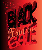 Typography poster. Black Friday. Vector illustration. Typography poster Royalty Free Stock Image