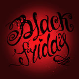 Typography poster. Black Friday. Vector illustration. Typography poster Royalty Free Stock Photo