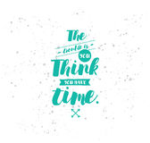 Typography for poster, invitation, greeting card or t-shirt. Stock Images