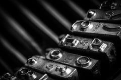 Typos of an old typewriter Royalty Free Stock Photo