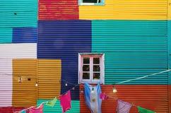 Typowa ściana w losie angeles Boca obraz royalty free