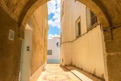 Typowa aleja w Medina Kairouan Tunezja, afryka pólnocna Obraz Stock