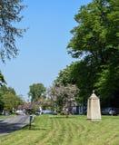 Typowa Angielska wioska obraz royalty free