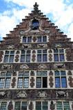 Typowa architektura w Gent Obraz Royalty Free