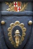 typowa barcelona fontanna obrazy stock