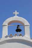 Typowa grecka dzwonnica Obrazy Stock