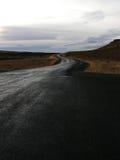 typowa Iceland droga Obraz Royalty Free