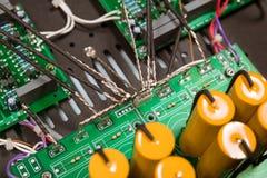 Typowa komputer stacjonarny płyta główna zdjęcie royalty free