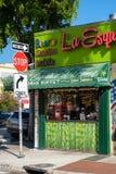 Typowa kubańska restauracja w Mały Hawańskim, Miami zdjęcie stock
