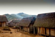 Typowa malagasy wioska Zdjęcia Stock