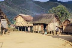 Typowa malgasy wioska - afrykańska buda Obraz Royalty Free