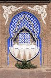 Typowa Marokańska chrzcielnica fotografia royalty free