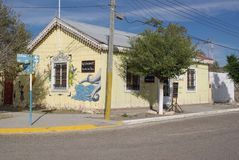 Typowa restauracja w Patagonia Obrazy Stock