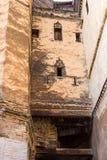 Typowa ulica fez El Bali Medina fez Morocco Obrazy Royalty Free
