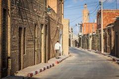 Typowa ulica Gafsa, Tunezja Zdjęcie Royalty Free