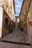 Typowa ulica w Valldemosa fotografia stock