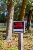 typowa włoska rada własność prywatna Obrazy Stock